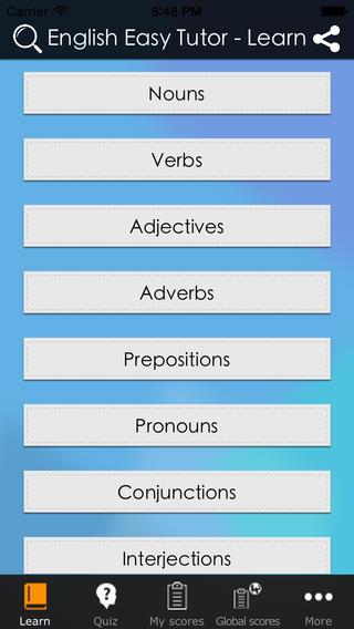 English Easy Tutor language grammar basics
