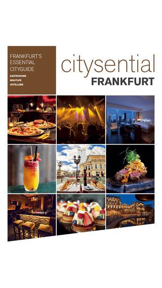 Citysential Frankfurt 2014: Restaurants Nightlife
