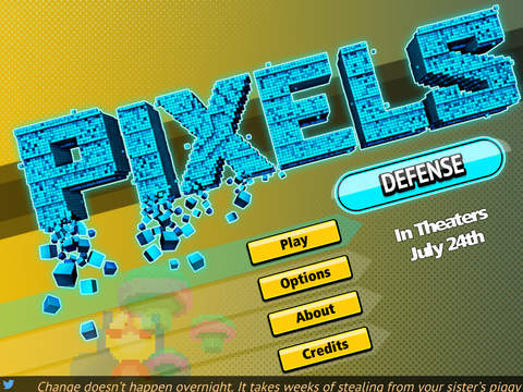 PIXELS Defense screenshot 1