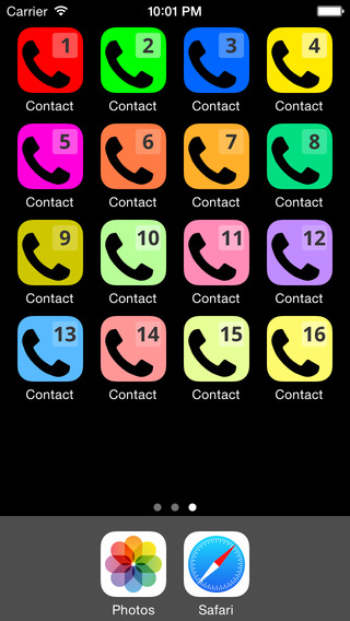 Speed Dial Contact 1