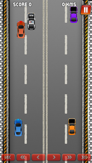 An Endless Road to Small Streets Racing - Traffic Simulator Challenge Pro