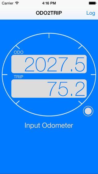 ODO2TRIP - Trip meter for motorbike -