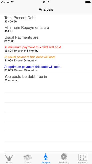Become: Debt Free iPhone Screenshot 3