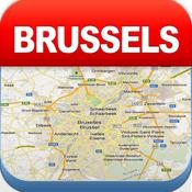 布鲁塞尔离线地图 – 城市 地铁 机场 [iOS]