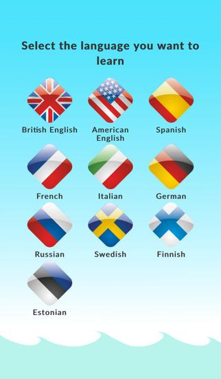 WordDive - Learn languages fast - Finnish Chinese Estonian Swedish Spanish English and many more