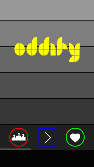 Oddity - free addictive puzzle arcade game that tests your brain and IQ