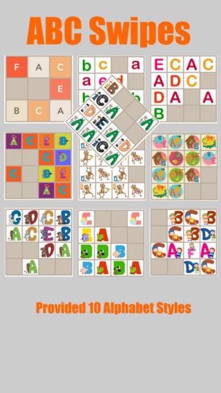 Alphabet Styles 2048 Game - 9 Styles x 3 themes