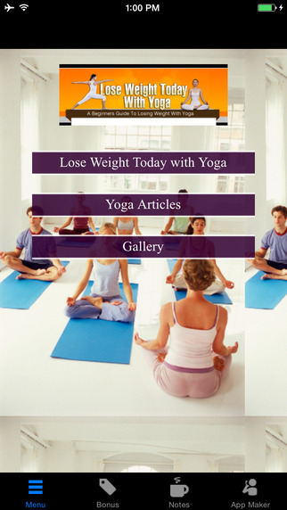 Lose Weight Today with Yoga:A Beginners Guide to Lose Weigh with Yoga