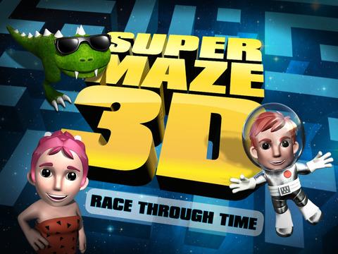 玩免費遊戲APP|下載超级迷宫 3D 再加上种族通过时间最好的好玩游戏 - Super Maze 3D PLUS Race Through Time Best Fun Game app不用錢|硬是要APP