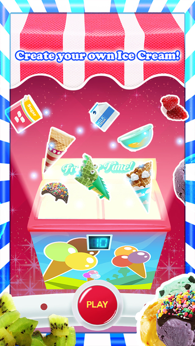 A Delicious Ice Creamy Lolly - Happy Amusing Free Games for Kids-3