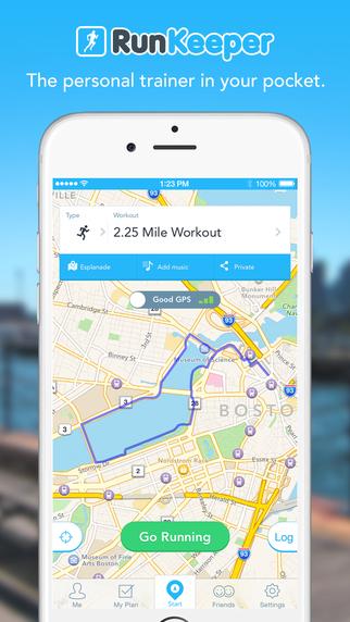 RunKeeper - GPS Running Walk Cycling Workout and Weight Tracker