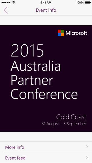 Microsoft Australia Events