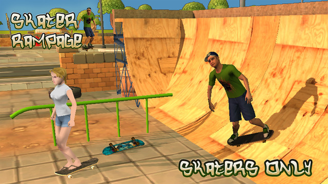 Skater 3D Rampage Simulator Pro