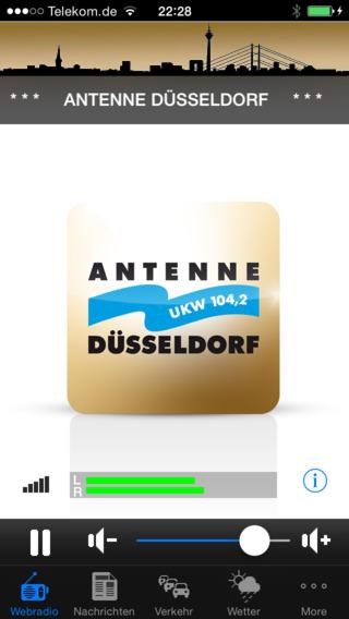Antenne Düsseldorf iPhone Screenshot 1