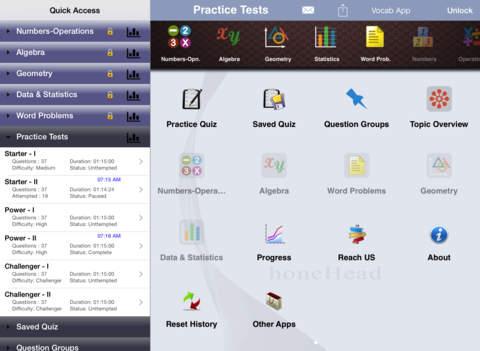 6 ACT Practice Tests (Math) iPad Screenshot 5