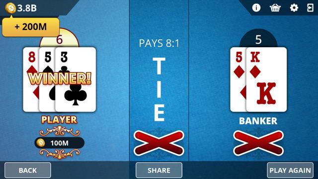 Baccarat - Royal Online Casino
