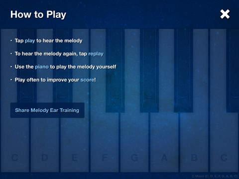 Melody Ear Training iPad Screenshot 4