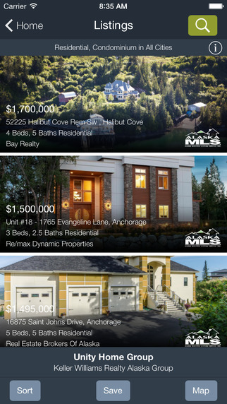 Alaska Real Estate by Unity Home Group - Homes Condos for Sale
