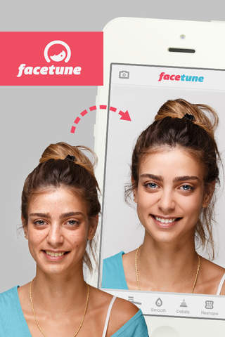 Facetune screenshot 1