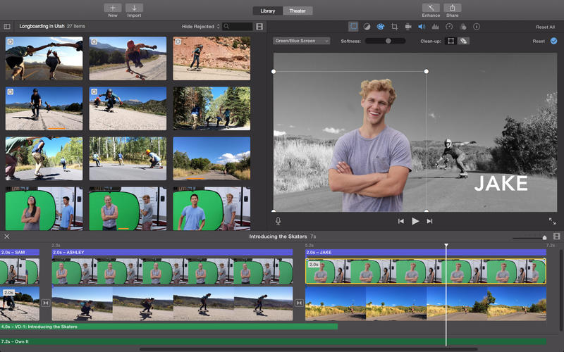 iMovie.app caprure 3