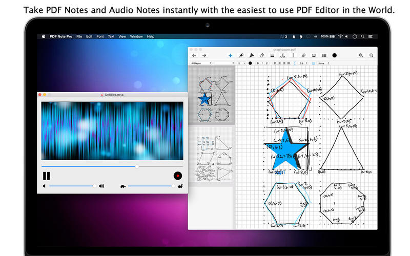 Pdf Note Pro Pdf Vector Drawing Manipulate Free Mac