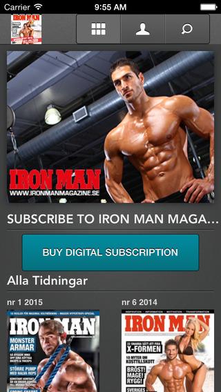 IRON MAN Magazine SE