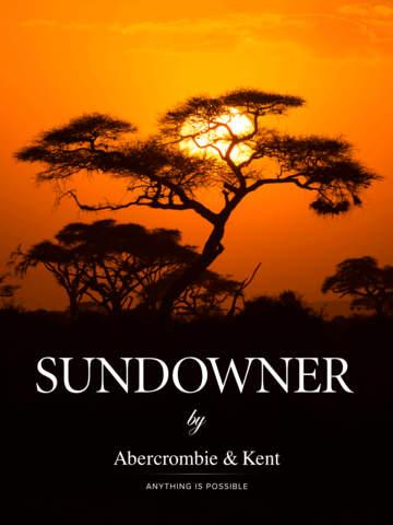 Abercrombie Kent Sundowner Magazine