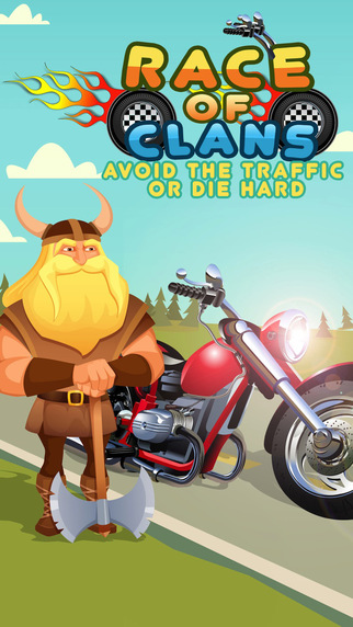 Race of Clans - Avoid the Traffic or Die Hard