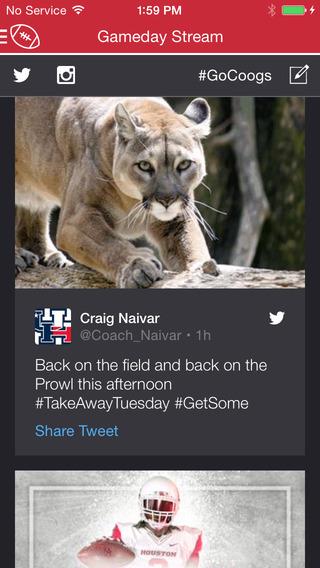 Houston Cougars Gameday