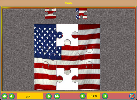 Flag Puzzle HD