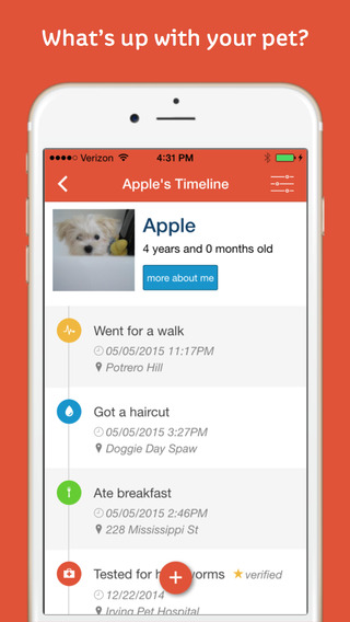 Pawprint - Pet Tracker