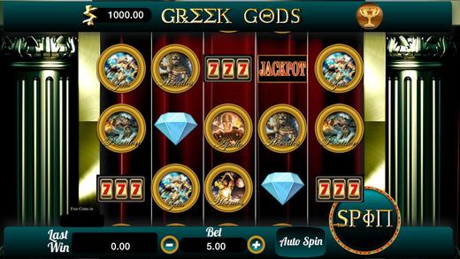 777 Greek Gods Vegas Slots Casino Machine FREE