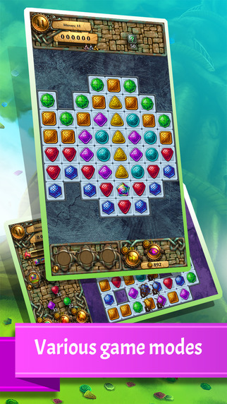 Jewel Tree: Match It free to play puzzle