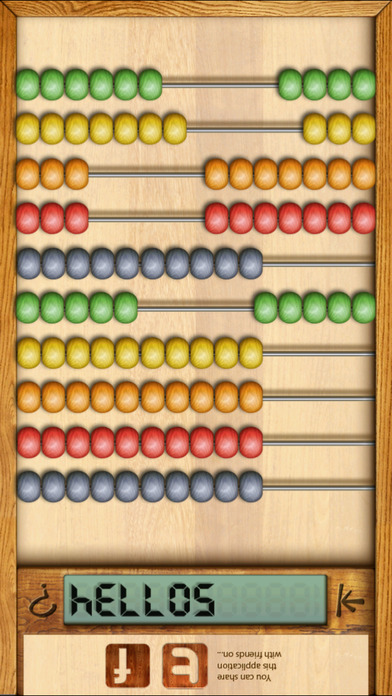 Digital Abacus iPhone Screenshot 3