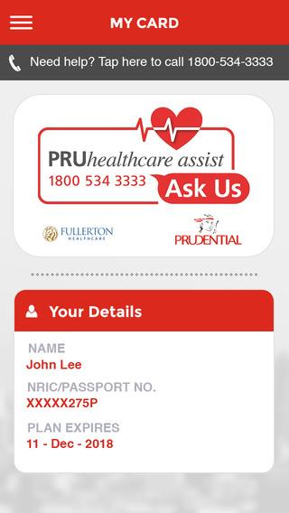 PRUhealthcare assist
