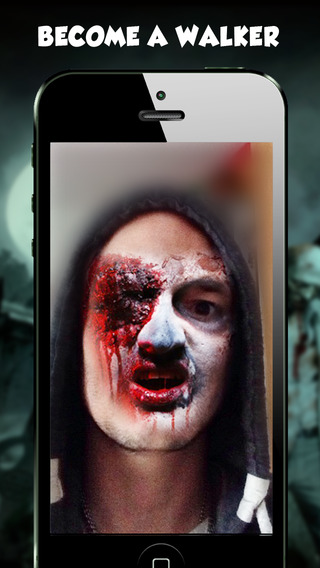 Freaky Face - Zombie Camera Pic Booth Editor Prank