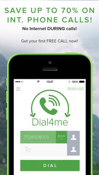 Dial4me - Great International Calls