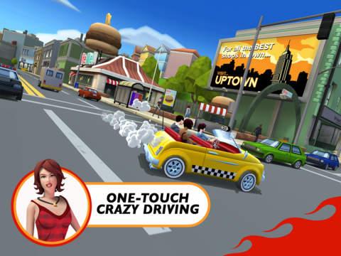 Screenshot 1 Crazy Taxi™ City Rush