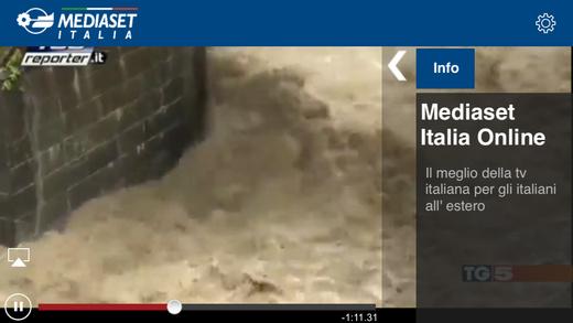 Mediaset Italia TV Online