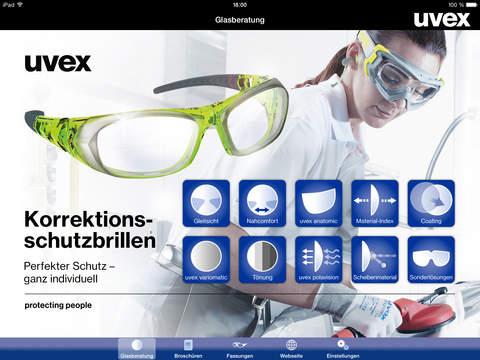 uvex rx app beratungstool f r uvex korrektionsschutzbrillen app store. Black Bedroom Furniture Sets. Home Design Ideas