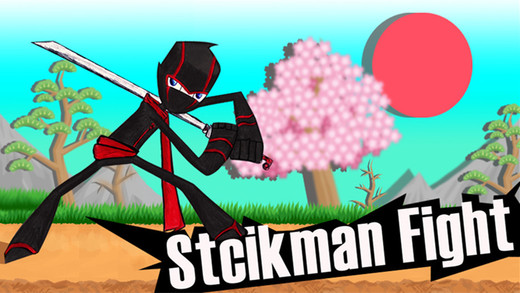 Stickman ninja fight Screenshot