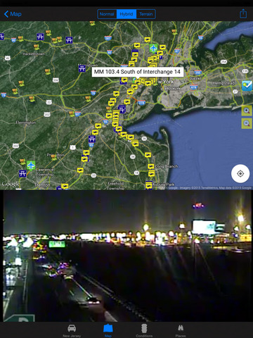 玩旅遊App|New Jersey Road Conditions and Real Time Traffic Cameras - Travel & Transit & NOAA Pro免費|APP試玩