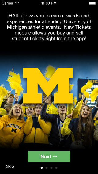 HAIL Michigan Athletics Student Loyalty Program