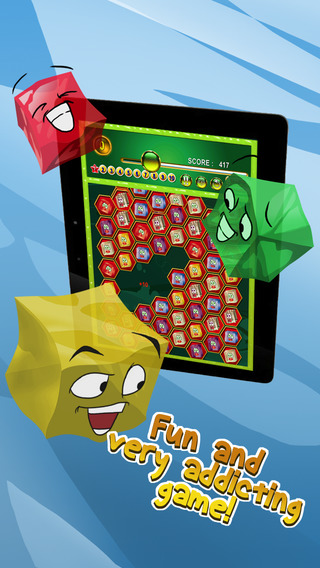 Cube Jelly Match Puzzle Game