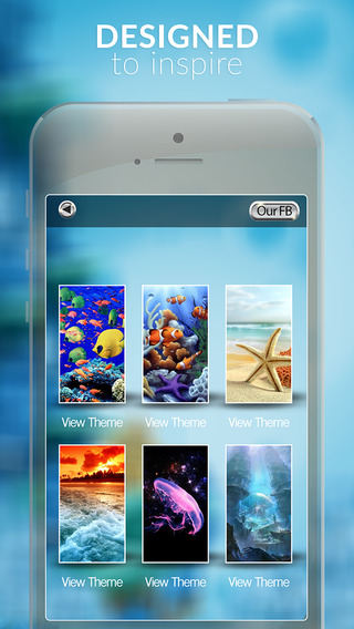 Beautiful Under Water World and Ocean Gallery HD - Retina Wallpaper Themes and Backgrounds for IOS 8
