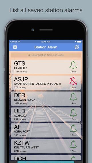 Railway Station Alarm