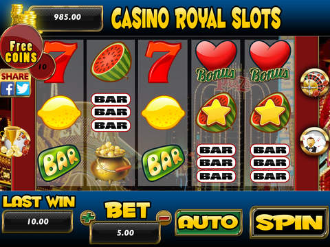 free online casino slots royal roulette