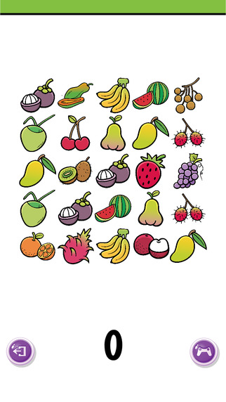Fruit Counting Game