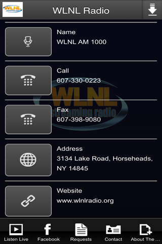 WLNL Radio screenshot 2