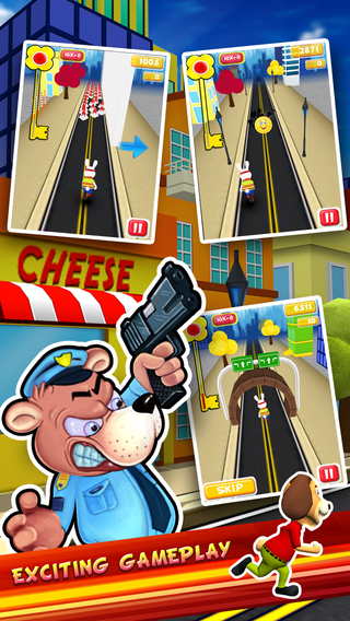 Thief Runner 3D Free